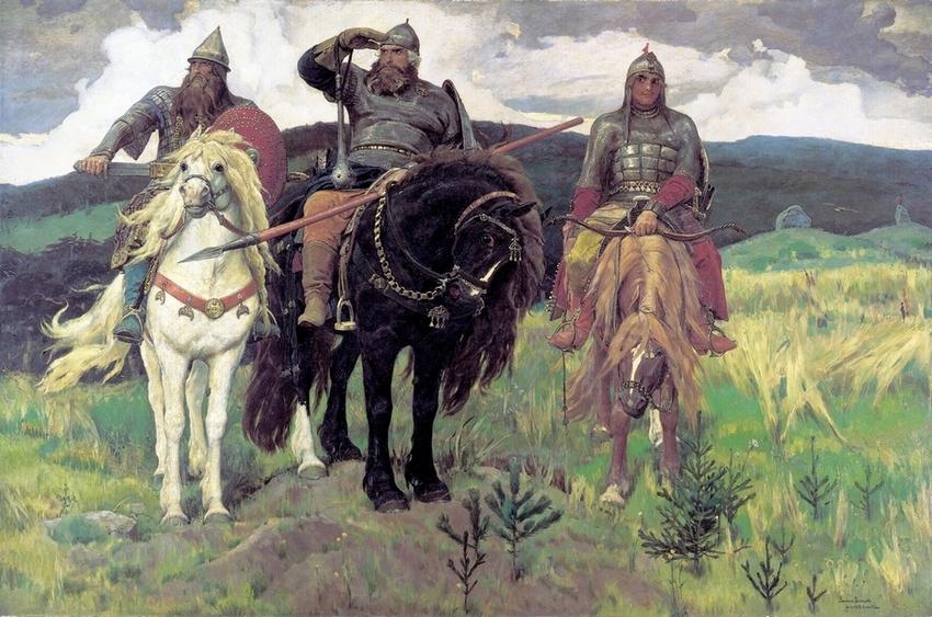 богатыри воснецова bless