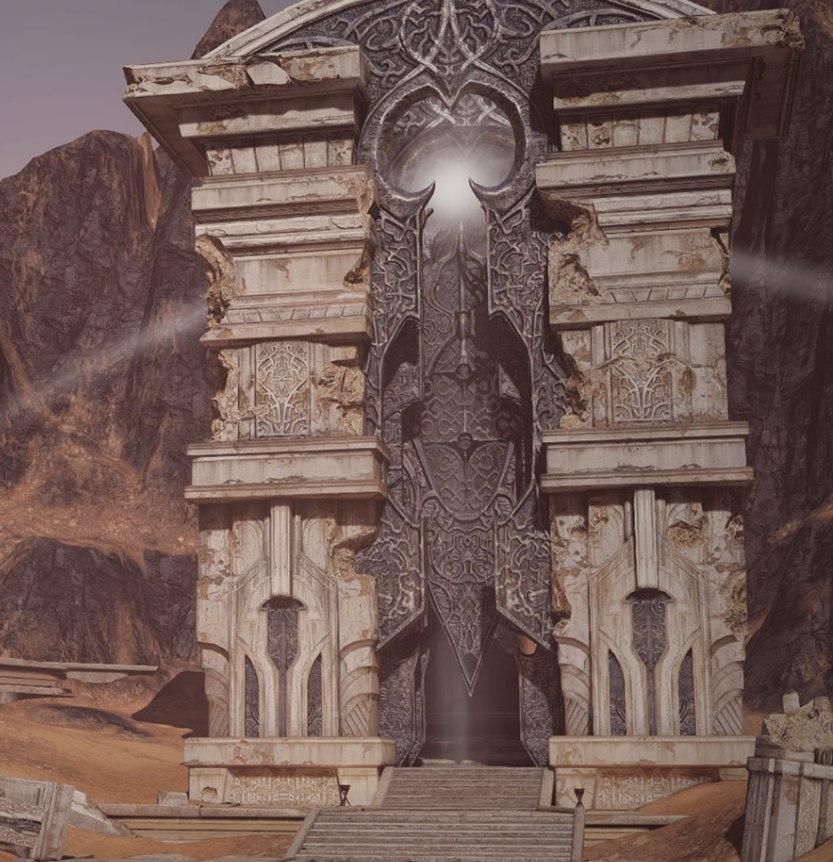 земля четырехстороннего возрождения локация горящая пустыня bless