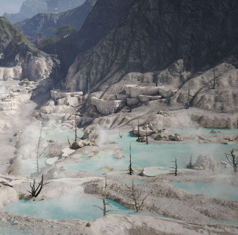 местность спящего вулкана локация оболочка
