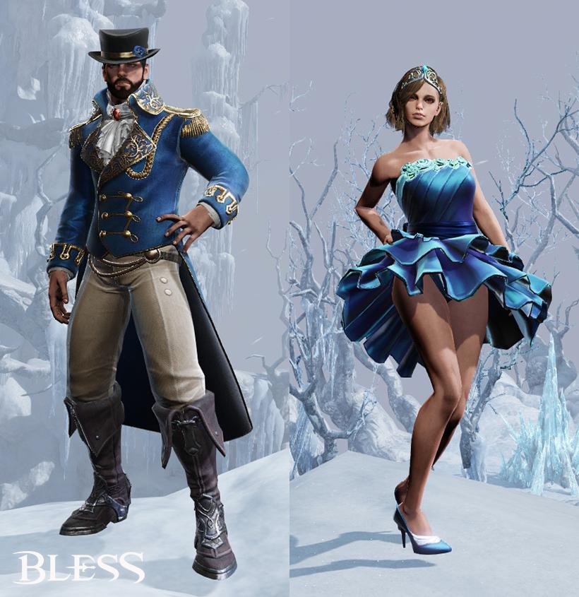 обновление bless 19 января костюмы