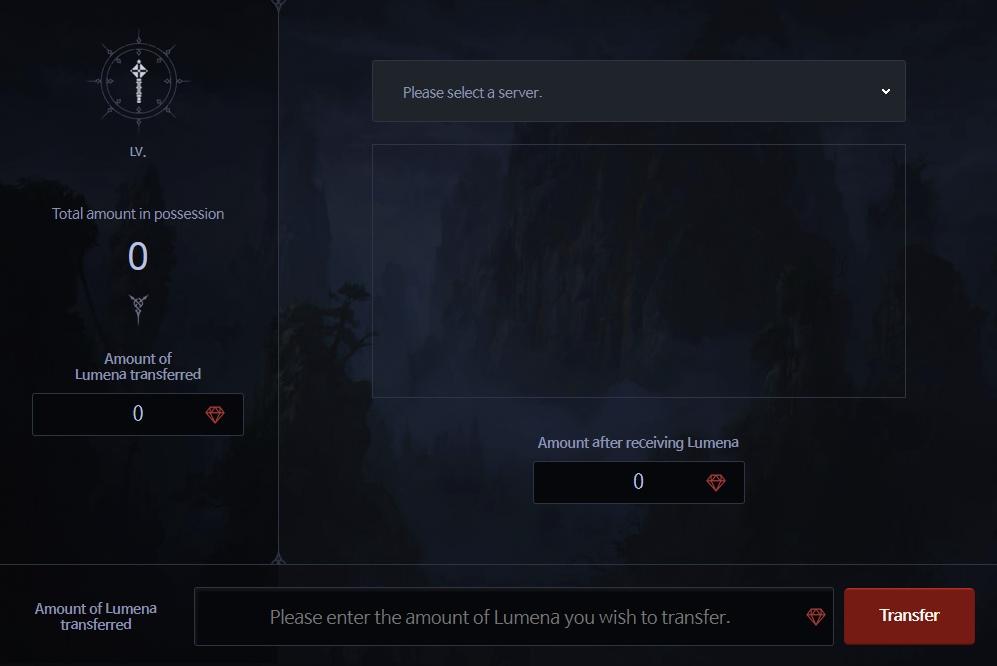 Lumena Transfer System bless
